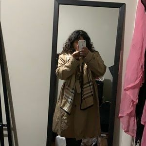 London Fog Trench Coat (Perfect Condition)